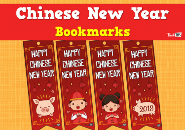 Chinese New Year - Bookmarks