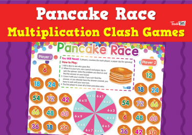 Pancake Race - Multiplication Clash Games
