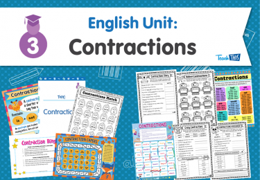 English Unit: Contractions