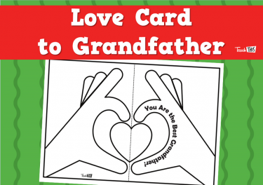 Love Card to Grandfather