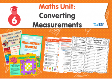 Maths Unit: Converting Measurements