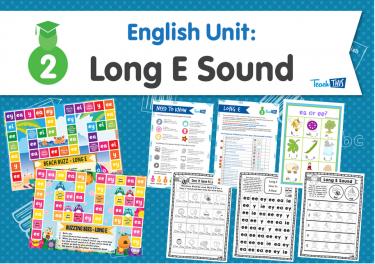 English Unit: Long E Sound