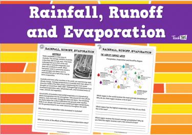 Rainfall, Runoff and Evaporation (pg2)