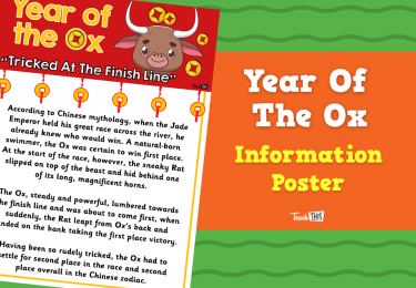 Year of the Ox - Information  Poster