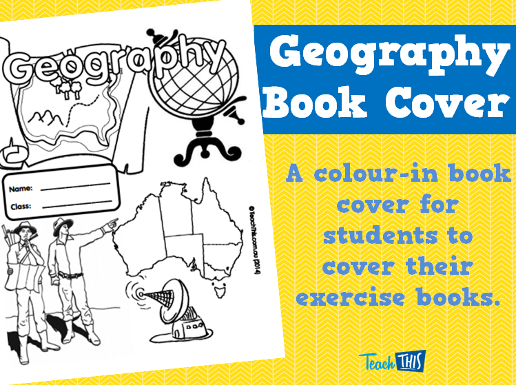 Geography Book Cover Ideas ~ Geography book cover printable covers for primary