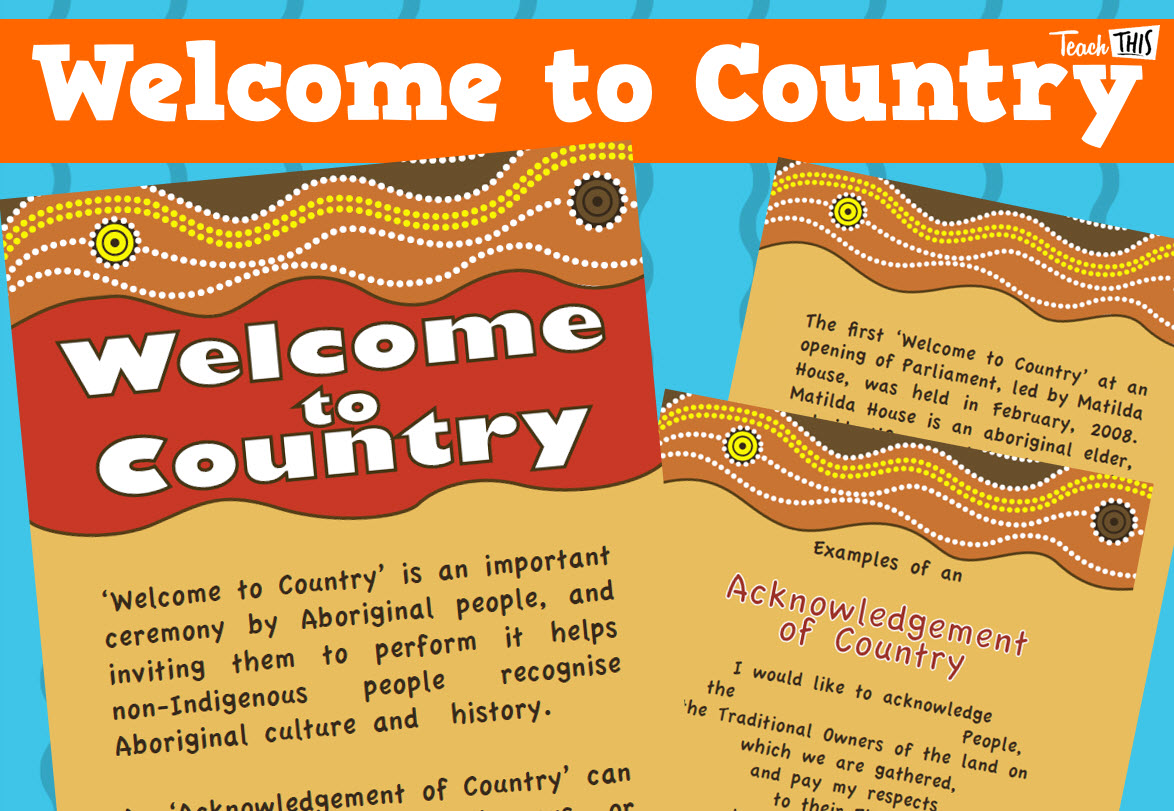 Welcome to Country - NAIDOC Week Teacher Resources ...