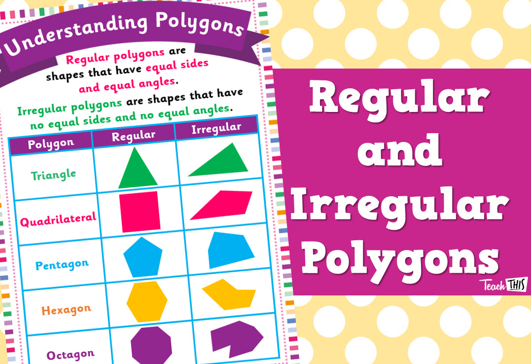 Understanding Polygons - Regular & Irregular Polygons