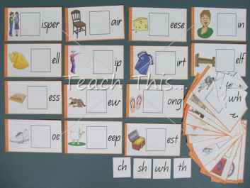Consonant Digraph Cards