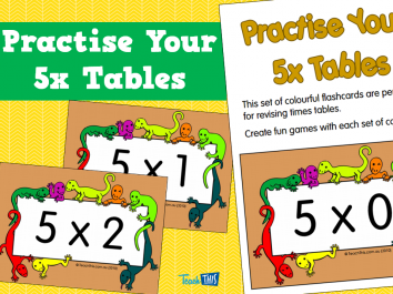 Practise Your 5x Tables