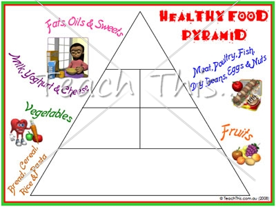 blank food pyramid - photo #34